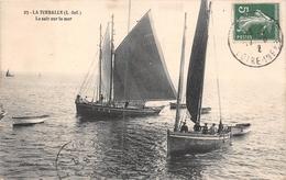 ¤¤  -  LA TURBALLE   -  Le Soir Sur La Mer   -  Bateaux De Pêche    -  ¤¤ - La Turballe