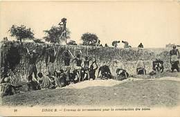 Pays Div : Ref M280- Zinder - Travaux De Terrassement Pour Les Constructions Des Caves  -carte Bon Etat - - Niger