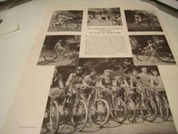 ANCIENNE REPORTAGE CONCOUR CYCLISTE BOIS DE BOULOGNE 1941 - Transportation