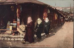 CPA Bosnie Herzégovine Bosnien Makiszene Und Türk Frauen  YT 67 CAD K UND K MILIT POST Bos Br - Bosnia And Herzegovina
