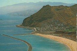 Tenerife - Playa De Las Teresitas. Vista Parcial.  Spain.  # 07808 - Spain