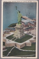 CPA   New York  Bedloes Island  Showing   Statue Of Liberty - Unclassified