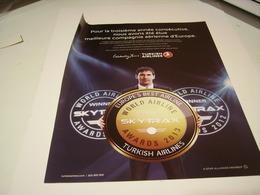 ANCIENNE PUBLICITE TURKISH AIRLINE  2013 - Advertisements