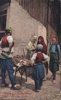 CPA Bosnie Herzégovine Bosnische Zuckerwarenverkäufer Bosanski Prodavaoc Slatkisa Feldpost CAD K U K Milit Post 4 8 15 - Bosnia And Herzegovina