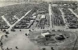 Pays Div : Ref M273- Tchad - Fort Lamy - Place Du Marché Et Le Quartier Ambassatna -vue Aerienne  - Carte Bon Etat - - Tchad