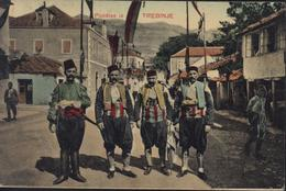 CPA Bosnie Herzégovine Pozdrav Iz Trebinje YT 32 CAD K U K Milit Post Trebinje 6 3 19 - Bosnia And Herzegovina