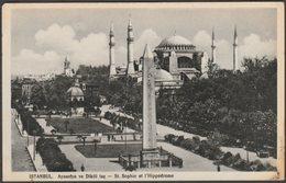 St Sophie Et L'Hippodrome, Istanbul, 1938 - IMA Photo CPSM - Turkey