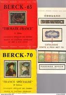 Lot De 11  Catalogues Berck - France