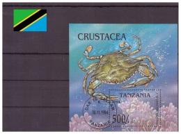Tanzanie 1994 - Oblitéré - Crustacés - Michel Nr. Bloc 269 (tan107) - Tanzania (1964-...)