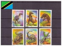 Tanzanie 1994 - Oblitéré - Préhistoriques - Michel Nr. 1767-1772 (tan241) - Tanzania (1964-...)