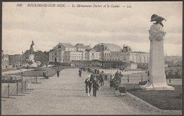 Le Monument Ferber Et Le Casino, Boulogne-sur-Mer, C.1910 - Lévy CPA LL100 - Boulogne Sur Mer