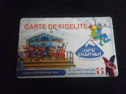 CARTE DE FIDELITE - CH'TI CHARIVARI - à Moitié Pleine - Francia