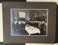 OLD  PHOTO 33 X 26,5 Cm.   ARGENTINA  AUGUSTIN LIGUORI - Berühmtheiten