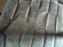 Carte Geographique  Empire Allemand Du Tyrol Italien Echelle 1.350 000 Ecrite En Allemand Annee 1916? - Geographical Maps