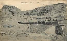 Pays Div : Ref M259- Tunisie - Metlaoui - Mines - Mineurs - Mine - Le Lousif -/ Legeres Taches Au Verso De La Carte - - Tunisie