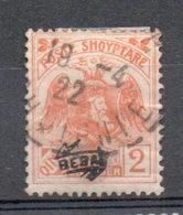 ALBANIA  1921  2 Q. Effige Con Sprastampa - Albania
