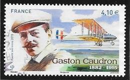 PA N 79 -  GASTON CAUDRON  -  2015  -  OBLITERE - France