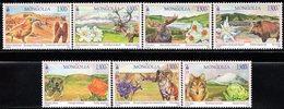 Mongolia - 2018 - Mongolian Beautiful Landscape - Mint Stamp Set - Mongolia