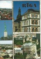 Riga Views.  Card Sent To Denmark. Latvia.  # 07810 - Latvia