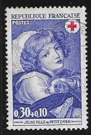 N° 1700  -  CROIX ROUGE   -  1971   -  OBLITERE - France