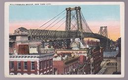 CPA Williamsburg  Bridge  New York - Unclassified