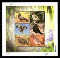 JORDAN, 2017, BIRDS, S/S.MNH** - Pájaros