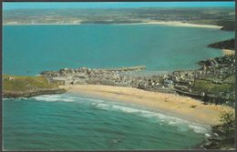 Aerial View, St Ives, Cornwall, C.1970 - Airviews Postcard - St.Ives