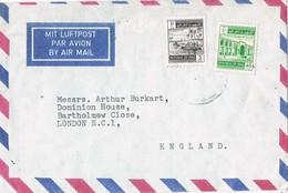 29614. Carta  Aerea BAGHDAD (Iraq) 1964. Ver Dorso - Iraq