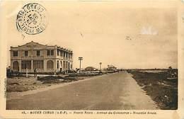 Pays Div : Ref M241- Congo - Moyen Congo - Aef - Pointe Noire - Avenue Du Commerce -nouvelle Route -carte Bon Etat - - Pointe-Noire
