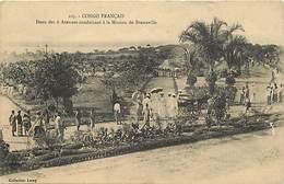 Pays Div : Ref M239- Congo Francais - Deux Des 6 Avenues Conduisant A La Mission De Brazzaville -carte Bon Etat - - Congo Francese - Altri
