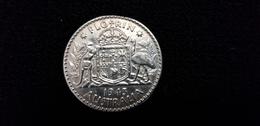 AUSTRALIE Pièce De Monnaie Australienne FLORIN 1943 GEORGES VI D:G:BR:OMN:REX F:D:IND:IMP ( Kangourou Australien ) - Australia