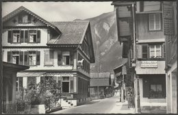 Dorfpartie, Brienz, Bern, C.1950 - Walter Schild Foto AK - BE Berne