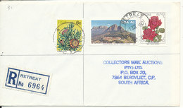South Africa Registered Cover Retreat 1-3-1980 - Covers & Documents