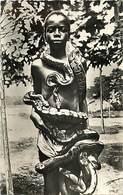 Pays Div : Ref M236- Afrique -serpents - Serpent -snake - Jeune Feticheur Du Serpent Au Dahomey   -carte Bon Etat - - Animaux & Faune