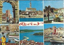 Yugoslavia.  Rovijn.  Views. Used 1977.   # 07818 - Yugoslavia