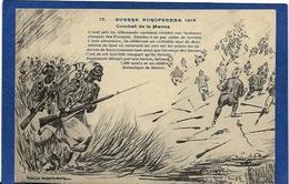 CPA Négritude Caricature Satirique Guerre 14-18 Patriotique Germany Kaiser écrite - Satirical