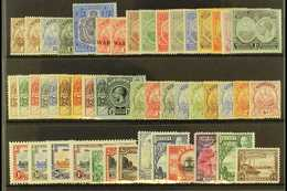 1910-36 MINT KGV COLLECTION  Presented On A Stock Card. Includes 1920-21 & 1921 Tercentenary Sets (a Few Toned Perfs See - Bermuda