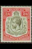 1918-22  2s6d Black & Red/blue, SG 52, Never Hinged Mint For More Images, Please Visit Http://www.sandafayre.com/itemdet - Bermuda