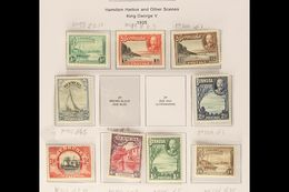 1921-40  A Small Fine Mint Range On Pages Incl. 1936 Pictorial Set, 1938 2d And 3d Etc. (21 Stamps) For More Images, Ple - Bermuda