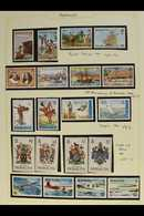 1983-1993 COMPREHENSIVE NEVER HINGED MINT COLLECTION  A Beautiful, COMPLETE Collection Of Stamps From The 1983 Bicentena - Bermuda