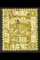 1923  2p Independence Commem, Ovptd In Black Reading Downwards, SG 104A, Very Fine Mint. For More Images, Please Visit H - Jordan