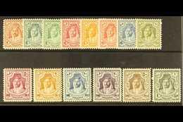 1943  Emir Abdullah Set Complete, Wmk Script, SG 230/43, Very Fine Never Hinged Mint. (14 Stamps) For More Images, Pleas - Jordan
