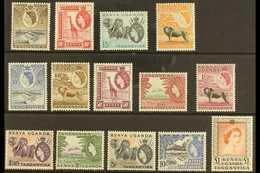 1954-59  Definitive Set, SG 167/80, Never Hinged Mint (14 Stamps) For More Images, Please Visit Http://www.sandafayre.co - Publishers