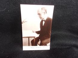 Célébrités.Manuel De Falla . Compositeur .Carte Photo.Cliché Peu Courant .Voir 2  Scans . - Singers & Musicians