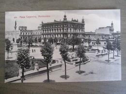 Tarjeta Postal - Uruguay Uruguaya Montevideo - Plaza Libertad - 329 Editor A. Carluccio Montevideo - Uruguay