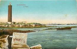 Pays Div : Ref M223- Egypte - Egypt - Alexandrie - Le Phare - Theme Phares   - Carte Bon Etat  - - Alexandria