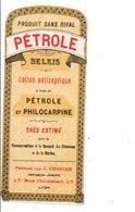 ETIQUETTE NEUVE PETROLE BELKIS J. CHORIER LYON - Etiquettes