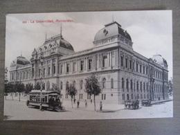 Tarjeta Postal - Uruguay Uruguaya Montevideo - La Univercidad - 319 Editor : A. Carluccio Montevideo - Uruguay