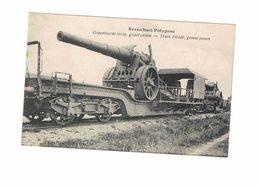 BRASSCHAET POLYGONE TRAIN BLINDE GRAND CANON SUR WAGON - Brasschaat