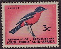 South Afrika -  #1961 Definitive Issue - No Watermark--scarlet Black Bluish NEUF - Afrique Du Sud (1961-...)